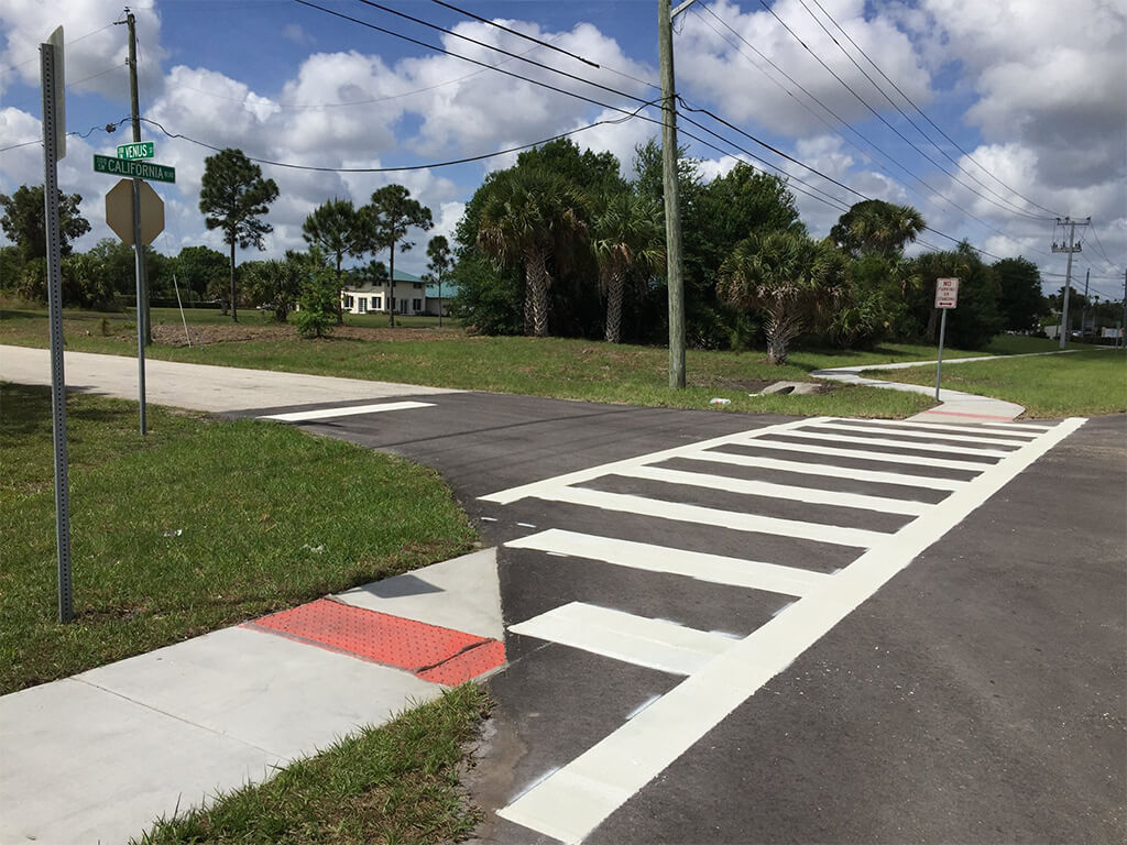 residential crosswalk